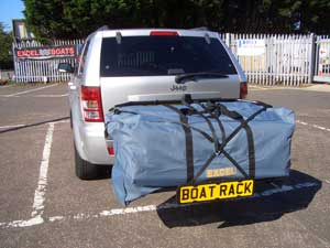 Car Rack for Excel Inflatable Boats